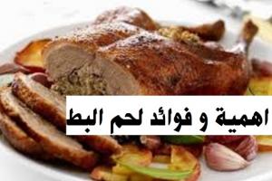 فوائد لحم البط الصحيه للصائم