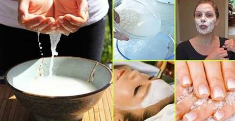 فوائد ماء الارز الجماليه للشعر والبشره وطرق استخدامه