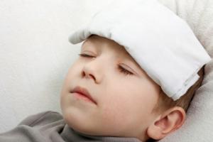 علاج ارتفاع الحرارة للاطفال
