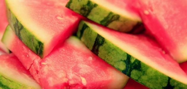 فوائد قشر البطيخ للرجيم